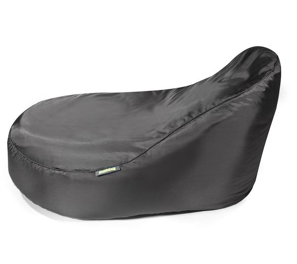 Pushbag Sitzsack, Sitzliege, Sitzmöbel Seat XL Oxford schwarz