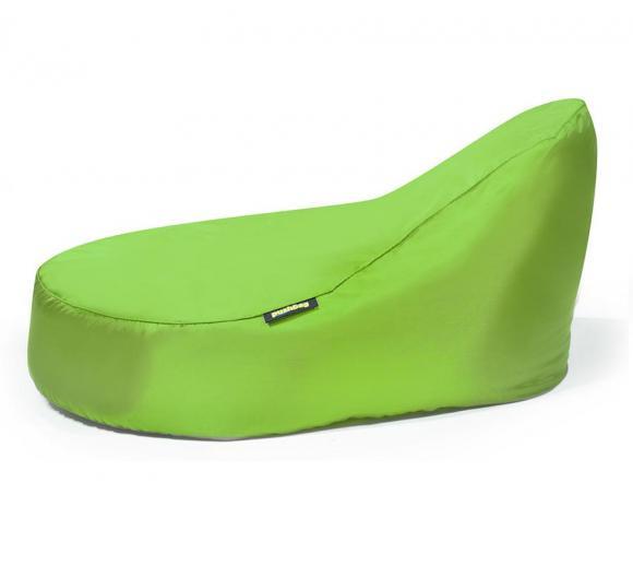 Pushbag Sitzsack, Sitzliege, Sitzmöbel Seat XL Oxford lime