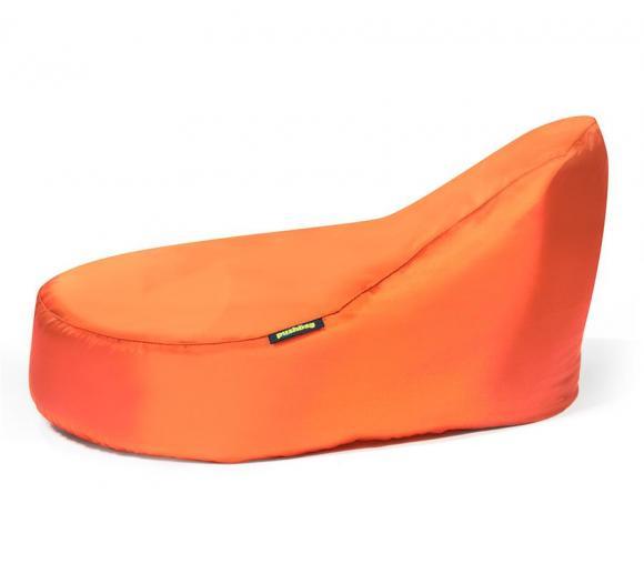 Pushbag Sitzsack, Sitzliege, Sitzmöbel Seat XL Oxford orange