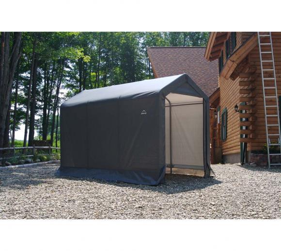 ShelterLogic Weidezelt Weideunterstand Lagerzelt 5,4m², 180x300 cm
