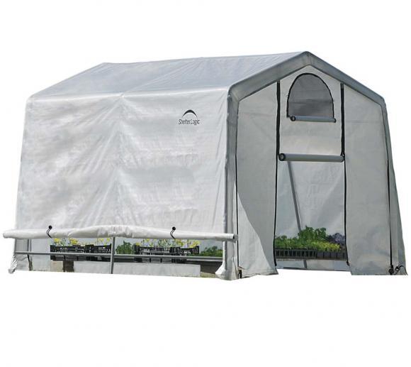 ShelterLogic Foliengewächshaus 9m², 300x300 cm