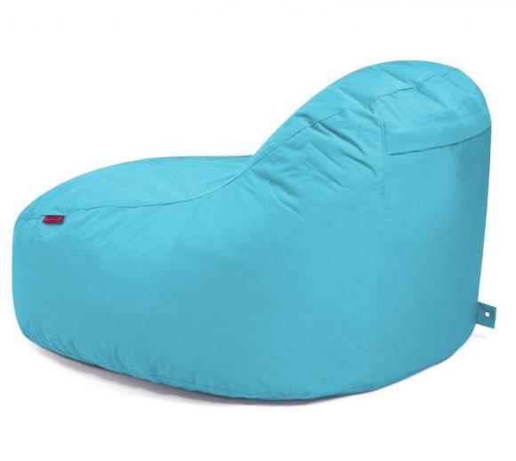 Outbag Sitzsack Slope XL Plus Aqua Sitzlounge