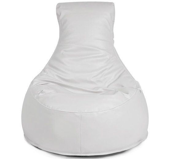 Outbag Sitzsack Slope Light White