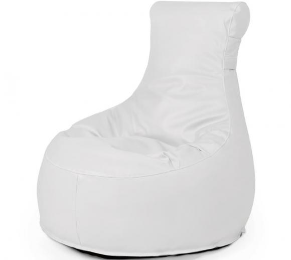 Outbag Sitzsack, Sitzlounge, Sitzsack Slope Light Weiß