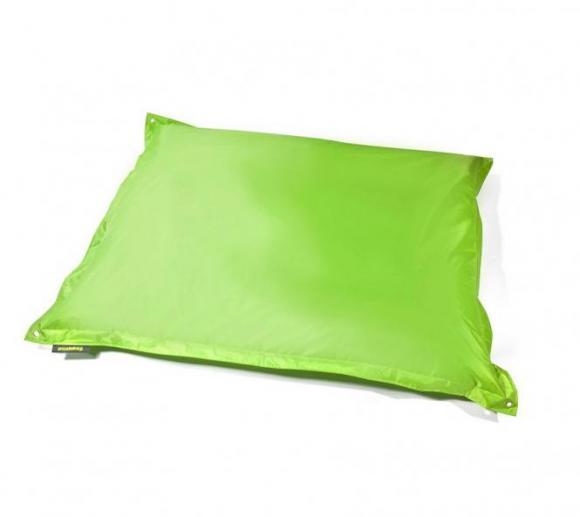 Pushbag Sitzsack, Sitzkissen, Sitzsessel Square Oxford lime