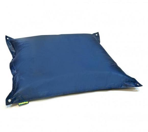 Pushbag Sitzsack, Sitzkissen, Sitzsessel Square Oxford marina blau