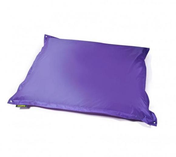 Pushbag Sitzsack, Sitzkissen, Sitzsessel Square Oxford purple