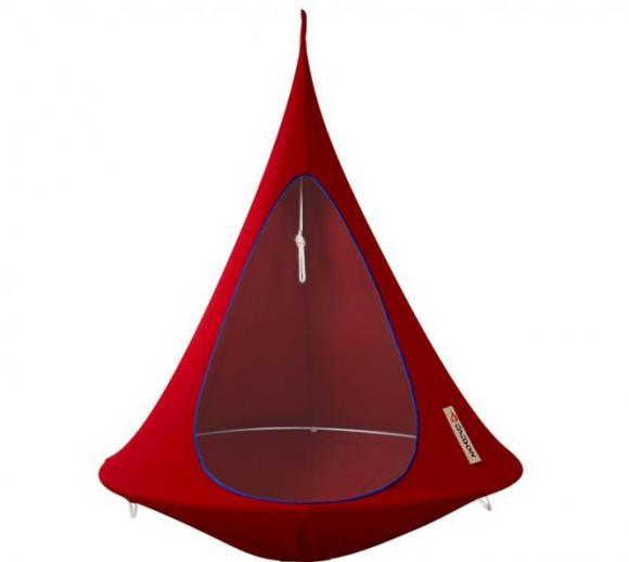Cacoon Hängezelt, Hängehöhle 1-Sitzer in rot