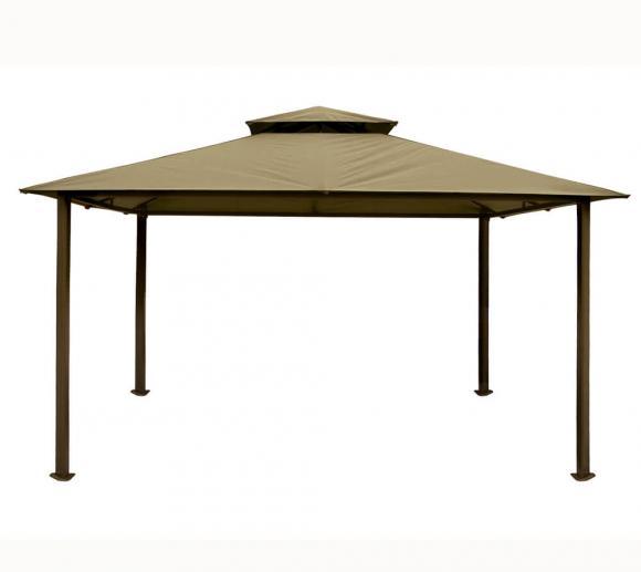 Paragon Outdoor Aluminium Pavillon Barcelona sand 10x12, 300x360 cm