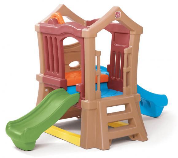 Step2 Spielzeugerüst Play Up inkl. Doppel Rutsche Kunststoff 150x130cm