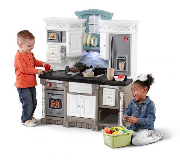 Step2 Spielküche Traumküche Kinderspielküche Kunststoff 40x90 cm