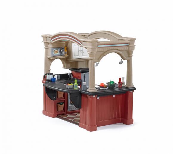 Step2 Spielküche Grand Walk Kinderspielküche Kunststoff 120x92 cm