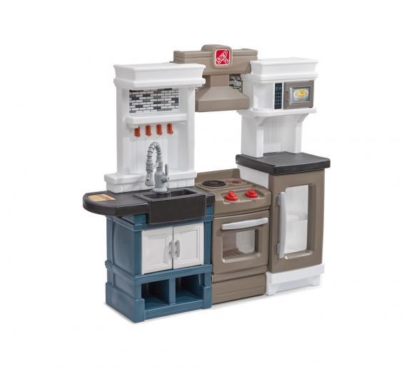 Step2 Spielküche Metro Kinderspielküche Kunststoff 120x100cm