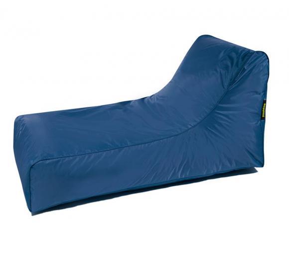 Pushbag Sitzsack, Sitzliege, Sitzsessel Stretcher Oxford marina blau