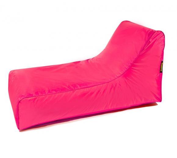 Pushbag Sitzsack, Sitzliege, Sitzsessel Stretcher Oxford pink