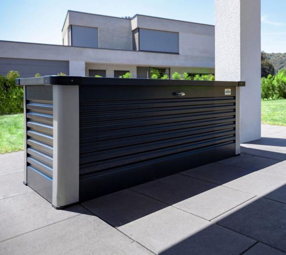 Trimetals Kissenbox, Gartenbox 600l Anthrazit