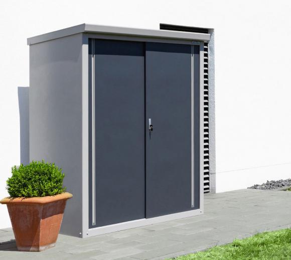 Trimetals Gartenschrank Guardian D63 inkl.Boden Geräteschrank Large