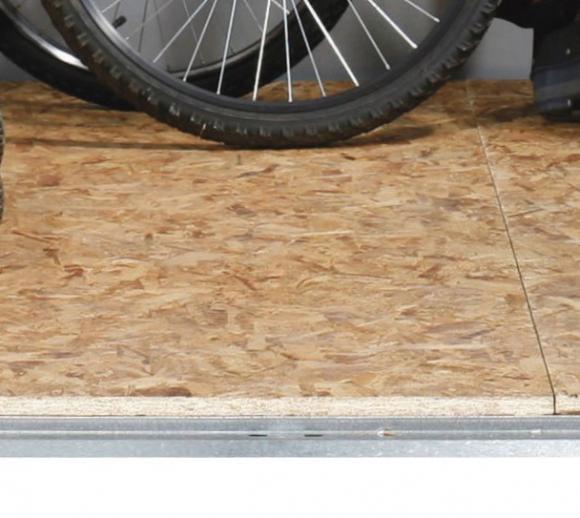 Trimetals Holzboden für Gerätehaus Titan 9x6