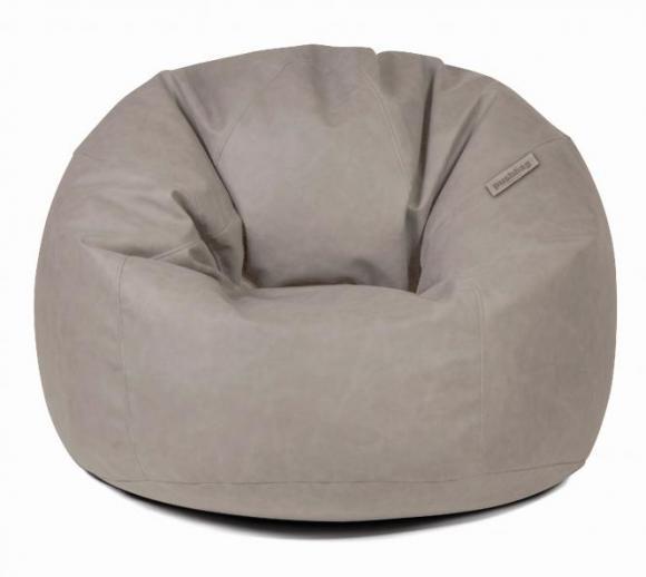 Pushbag Sitzsack, Sitzkissen, Sitzmöbel Toby AFL taupe