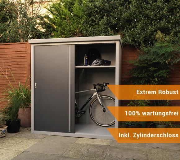 Trimetals Gartenschrank Geräteschrank Guardian D63 inkl. Boden