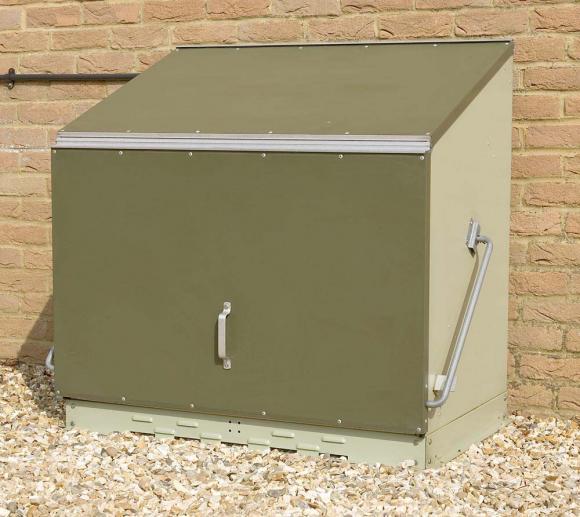 Trimetals Gerätebox, Aufbewahrungsbox, Multifunktionsbox Sentinel Grün