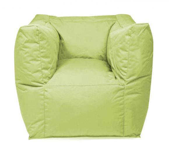 Outbag Sitzsack, Sitzkissen, Sitzsessel Valley Plus Lime