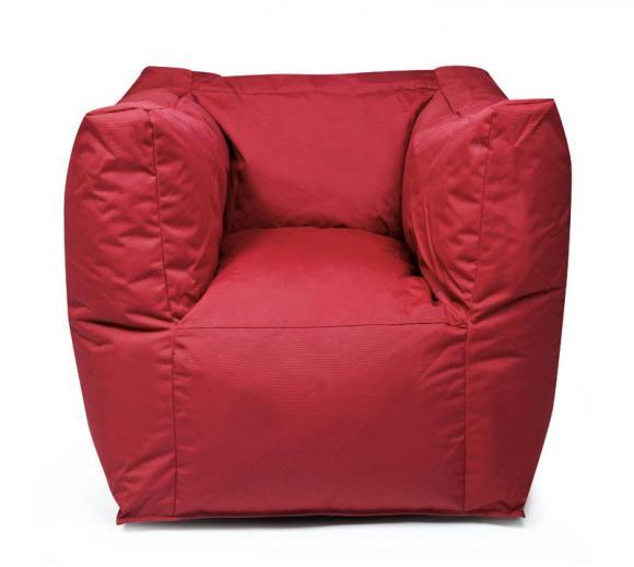 Outbag Sitzsack Valley Plus rot Sitzkissen Sitzsessel