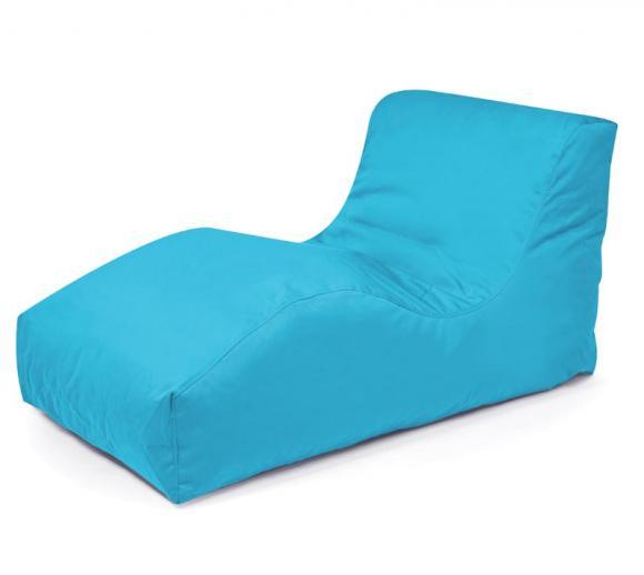Outbag Sitzsack, Sitzlounge, Sitzliege Wave Plus aqua