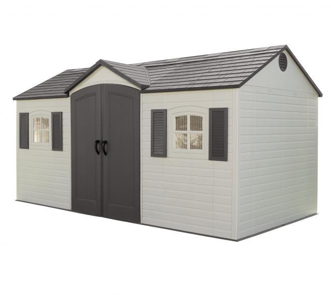 neu ovp lifetime garten villa 457x244cm 11 15m kunststoff. Black Bedroom Furniture Sets. Home Design Ideas