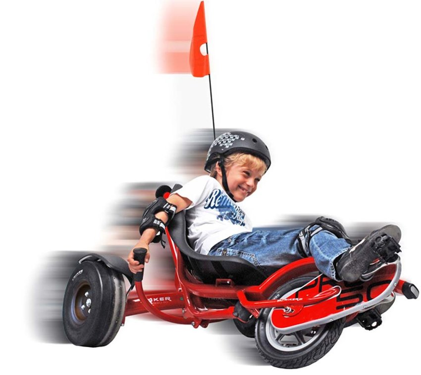 EXIT Fun-Kart Trike Dreirad Pro 50 Red