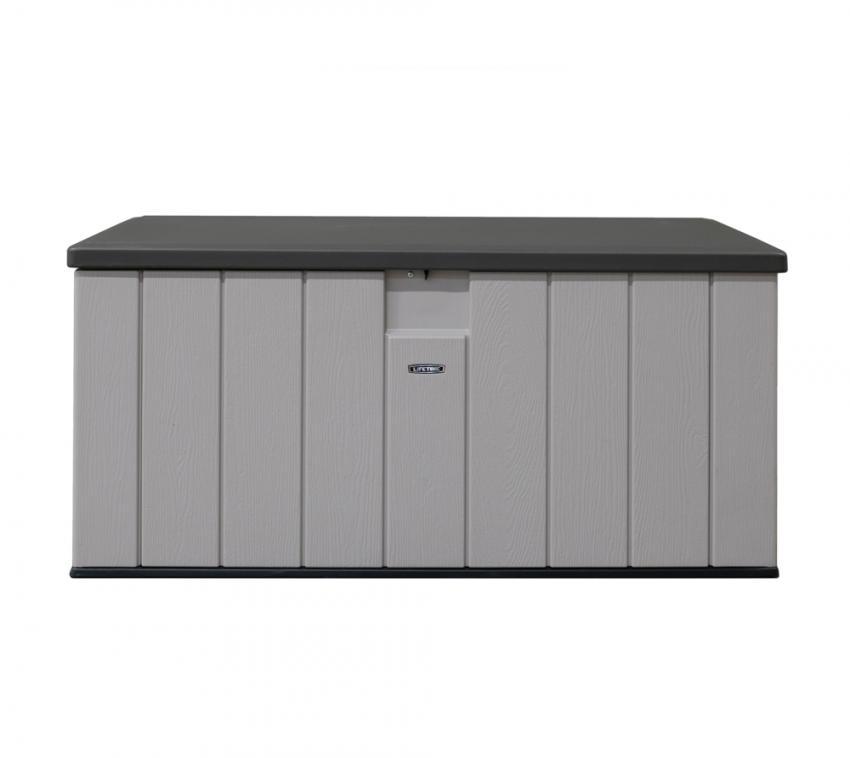 Lifetime Gartenbox Kissenbox Aufbewahrung 570 l lichtgrau