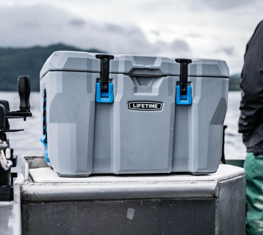 Lifetime Premium Kühlbox Campingbox Cooler 52 Liter inkl. Tragegriffen