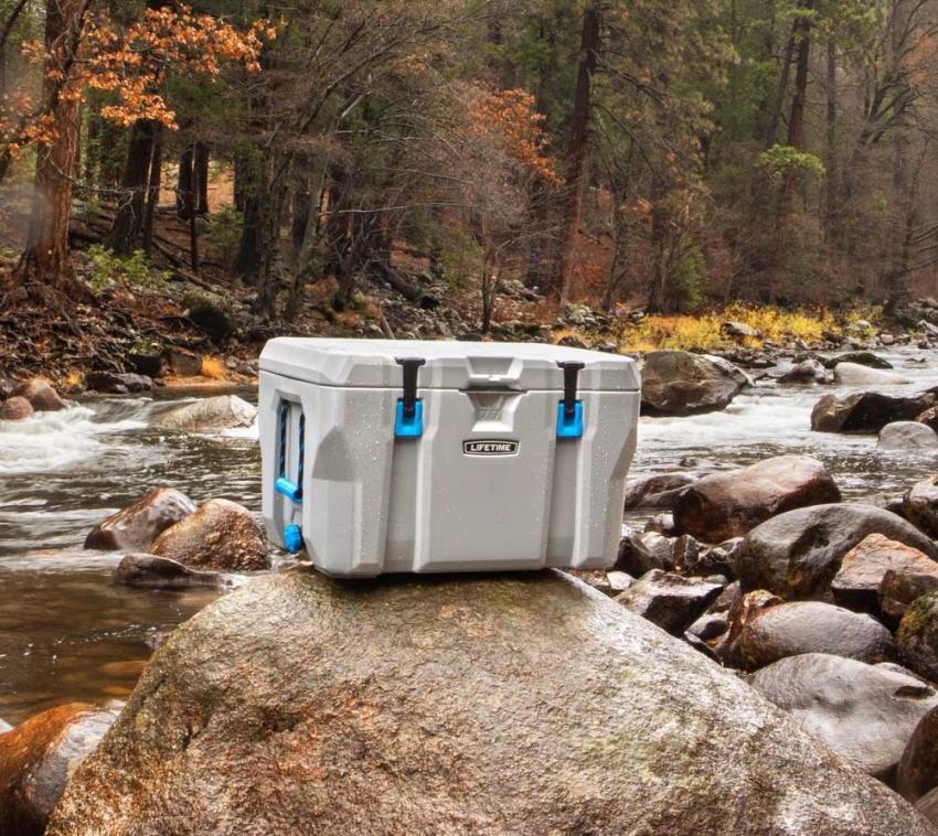 Lifetime Premium Kühlbox Campingbox Cooler 73 Liter inkl. Tragegriffen