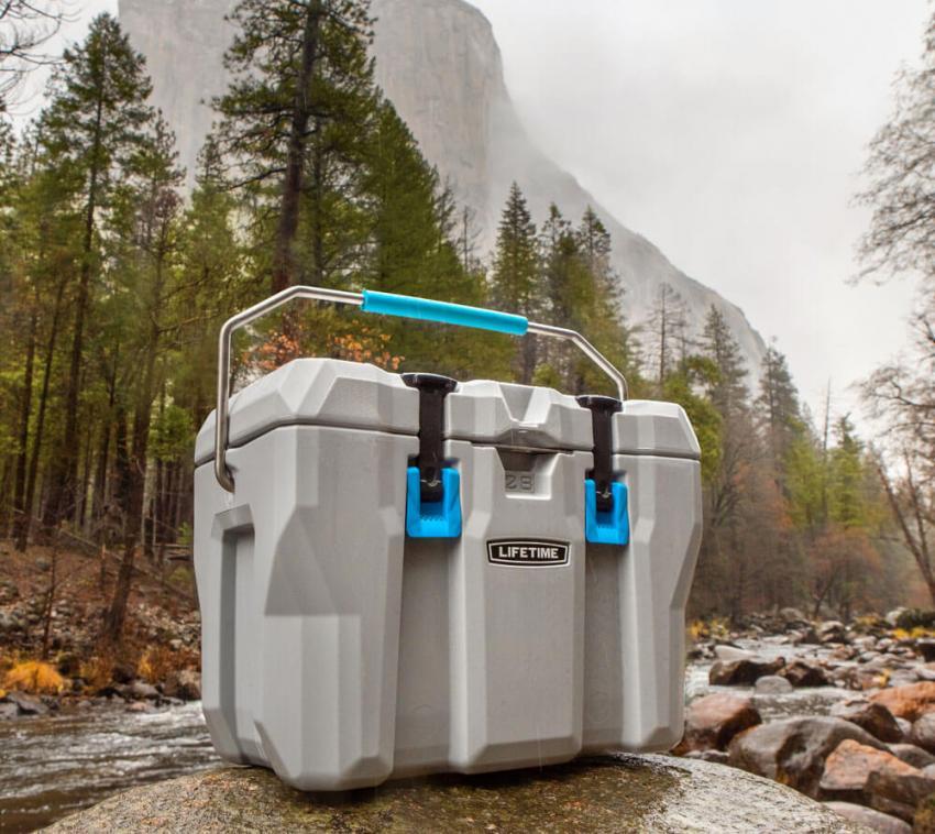 Lifetime Premium Kühlbox Campingbox Cooler 26 Liter inkl. Tragegriff