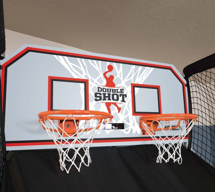 Lifetime Basketball Automat, Basketballspiel Double mit 7 Bällen