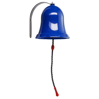 KBT Kinderspielhaus Zubehör Glocke Klingel für Spielgerät Spielturm blau