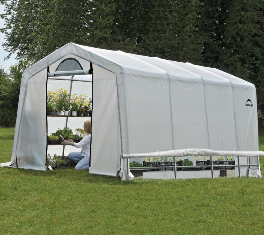 ShelterLogic Foliengewächshaus 300x610 cm