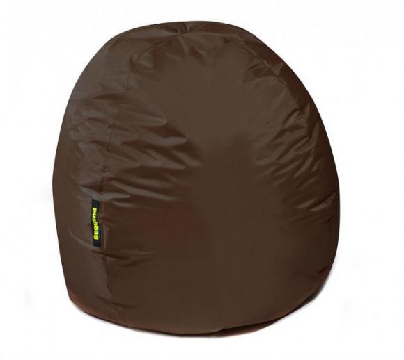 pushbag sitzsack sitzkissen bag 300 oxford braun. Black Bedroom Furniture Sets. Home Design Ideas