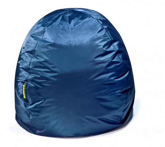 pushbag sitzsack sitzkissen bag 300 oxford marina blau. Black Bedroom Furniture Sets. Home Design Ideas