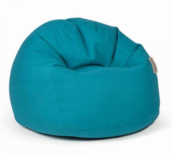 pushbag sitzsack sitzkissen bag 500 soft petrol blau mygardenhome. Black Bedroom Furniture Sets. Home Design Ideas