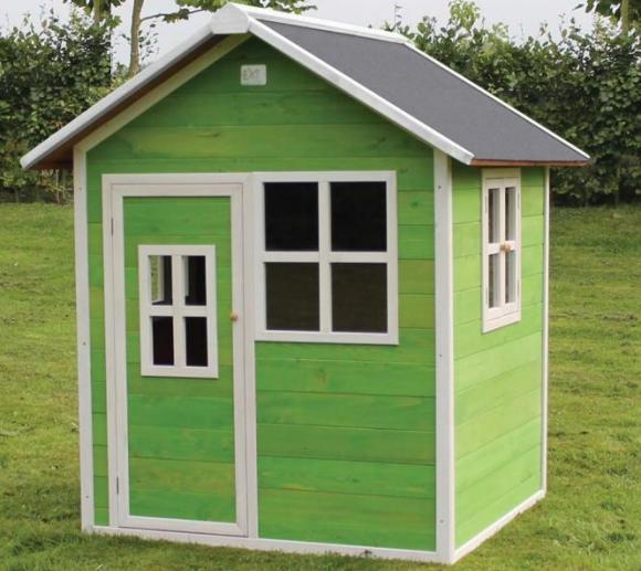 exit kinderspielhaus loft 100 gr n inkl 3 fenster mygardenhome. Black Bedroom Furniture Sets. Home Design Ideas