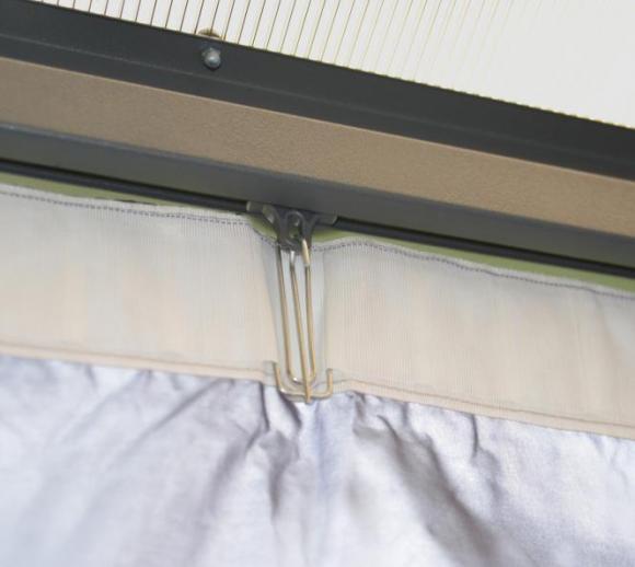 palram aluminium gazebo pavillon clips f r vorh nge mygardenhome. Black Bedroom Furniture Sets. Home Design Ideas