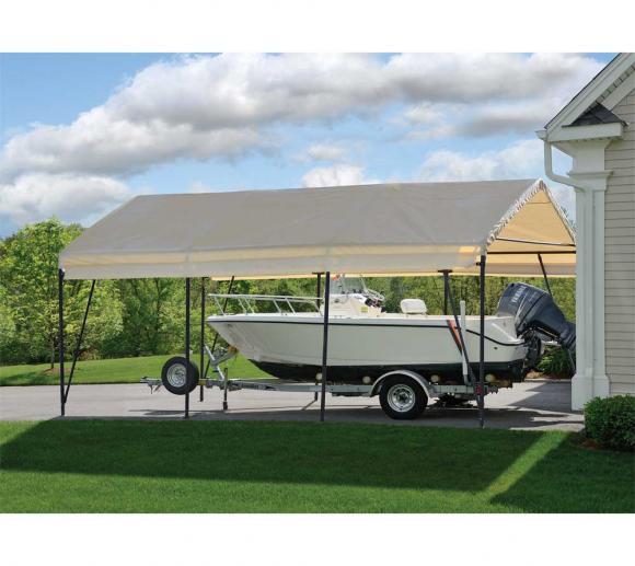Shelterlogic Folien Carport 22 57m 370x610 Cm Mygardenhome