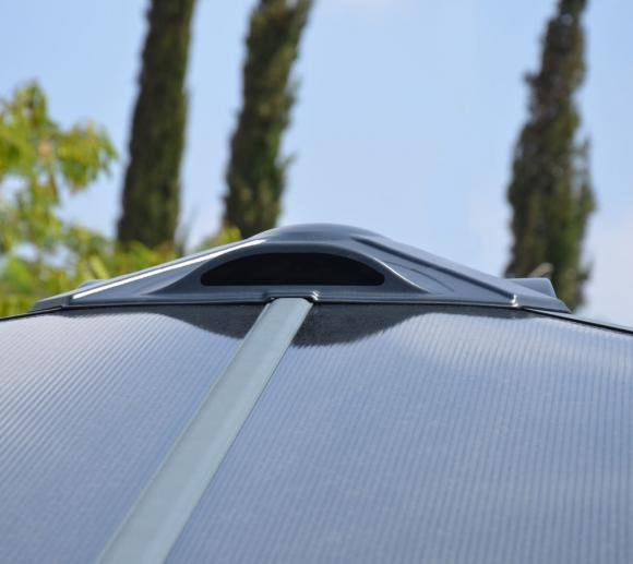 Palram Aluminium Wintergarten Und Pavillon Ledro 3000 295x295 Cm