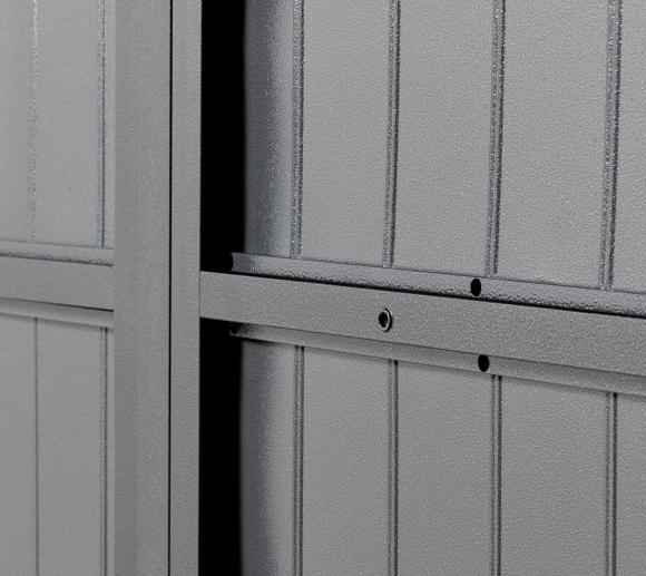 sojag stahl ger tehaus durango 8x8 anthrazit 256x256 cm. Black Bedroom Furniture Sets. Home Design Ideas