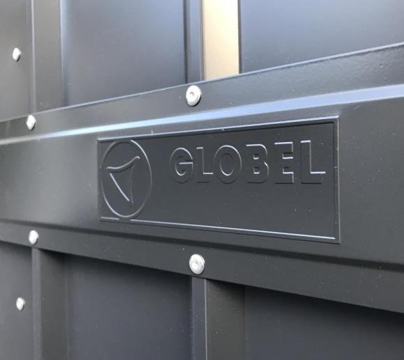 globel industries ger tebox und m lltonnenbox anthrazit 236x101 cm mygardenhome. Black Bedroom Furniture Sets. Home Design Ideas