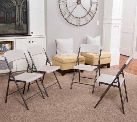 lifetime kunststoff bierzeltgarnitur falttisch set 7 teilig 244 cm mygardenhome. Black Bedroom Furniture Sets. Home Design Ideas