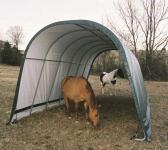 ShelterLogic Run-In-Shed Weidezelt Weideunterstand, 29,2 m², 400x730 cm