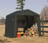 ShelterLogic Foliengerätehaus in-a-Box Grün 9m²; 300x300 cm