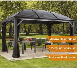 sojag stahl pavillons hardtop kaufen mygardenhome. Black Bedroom Furniture Sets. Home Design Ideas
